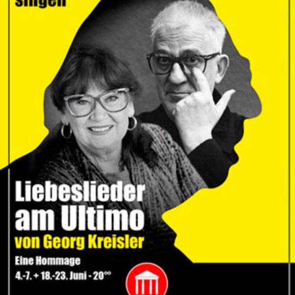 Barbara Kreisler-Peters :: Plakat Liebeslieder am Ultimo